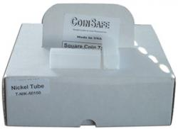 Coin Safe Square Tubes, Nickel Size
