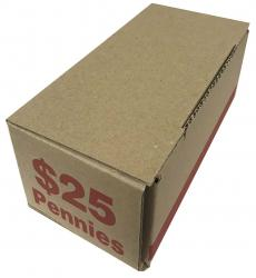 Coin Roll Storage/Shipping Boxes -- Cent Size