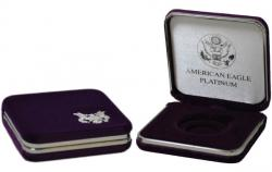 US Mint Presentation Case -- 1 oz Platinum American Eagle