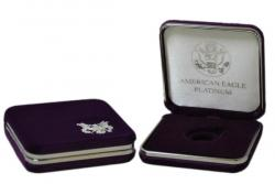 US Mint Presentation Case -- 1/4 oz Platinum American Eagle