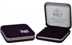 US Mint Presentation Case -- 1/10 oz Platinum American Eagle