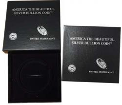 US Mint Presentation Case -- 5 oz America The Beautiful