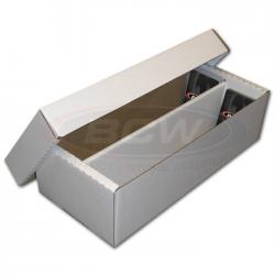 BCW Trading Card/Slab Storage Box -- 1600 Count (Shoe Box)