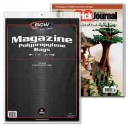 BCW Magazine Bags -- Pack of 100