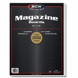 BCW Magazine Backing Boards