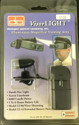 Donegan VisorLight for OptiVisor (w/10-inch Cord)