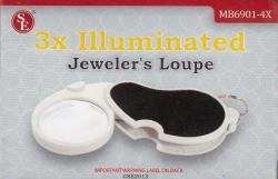 SE 3X Illuminated Jeweler's Loupe