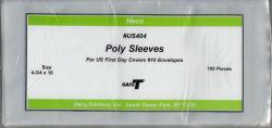 HECO Poly Philatelic Sleeves -- #10 Envelopes