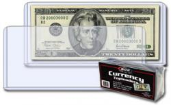 BCW Topload Holders -- Modern Currency -- Pack of 25