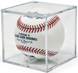 BallQube Grandstand Baseball Holder with UV Protection