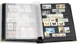 Lighthouse Comfort Deluxe Stockbook -- 9 x 12 -- 64 Black Pages