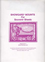 Showgard Stamp Mounts Souvenir Sheet Strip Set: MPKII (15 Sizes 76-171)