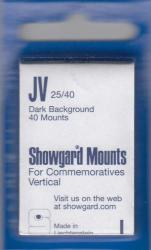 Showgard Stamp Mounts: JV (25/40)