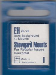 Showgard Stamp Mounts: EH (25/22)