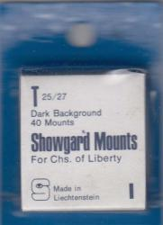 Showgard Stamp Mounts: T (25/27)