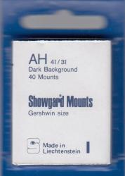 Showgard Stamp Mounts: AH (41/31)