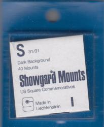 Showgard Stamp Mounts: S (31/31)