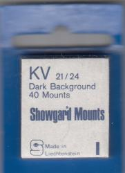 Showgard Stamp Mounts: KV (21/24)