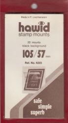 Hawid Stamp Mounts: 105x57