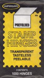 Supersafe Prefolded Stamp Hinges