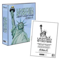 HE Harris Stamp Album US Liberty I