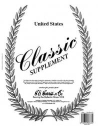 HE Harris Stamp Album Supplement -- US Classic