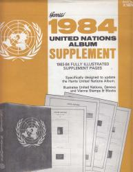 HE Harris Stamp Album Supplement -- United Nations