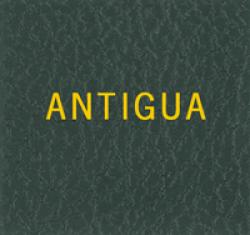 Scott Specialty Series Green Binder Label: Antigua