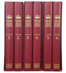 Stanley Gibbons Great Britain New Age Stamp Album Set 1952-1962
