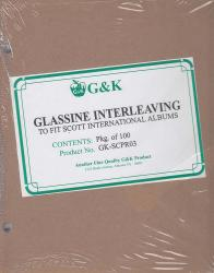 G&K Glassine Interleaving -- Scott International Albums