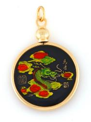 Hand Painted Chinese Year of the Dragon Pendant (1928, 1940, 1952, 1964, 1976, 1988, 2000, 2012)